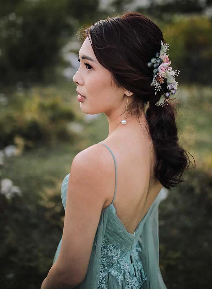 Asian Bridal Makeup Dubrovnik Croatia 1