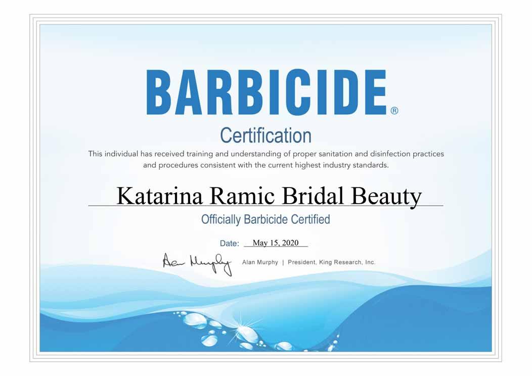 Barbicide-Certificate-Katarina-Ramic-Roca-Croatia